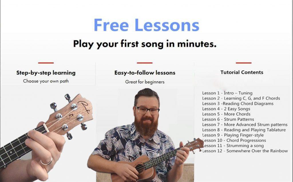 Ranch Ukulele Beginner Lessons 12 Lessons Free Ukulele Lessons