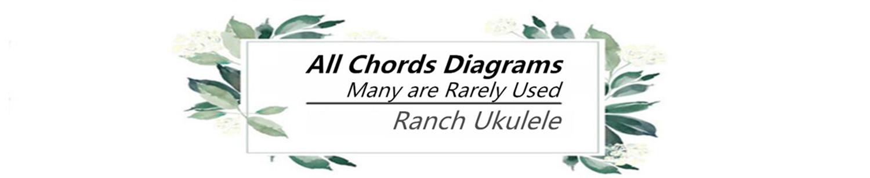 Ukulele All Chords Diagrams And Demo Ranch Ukulele