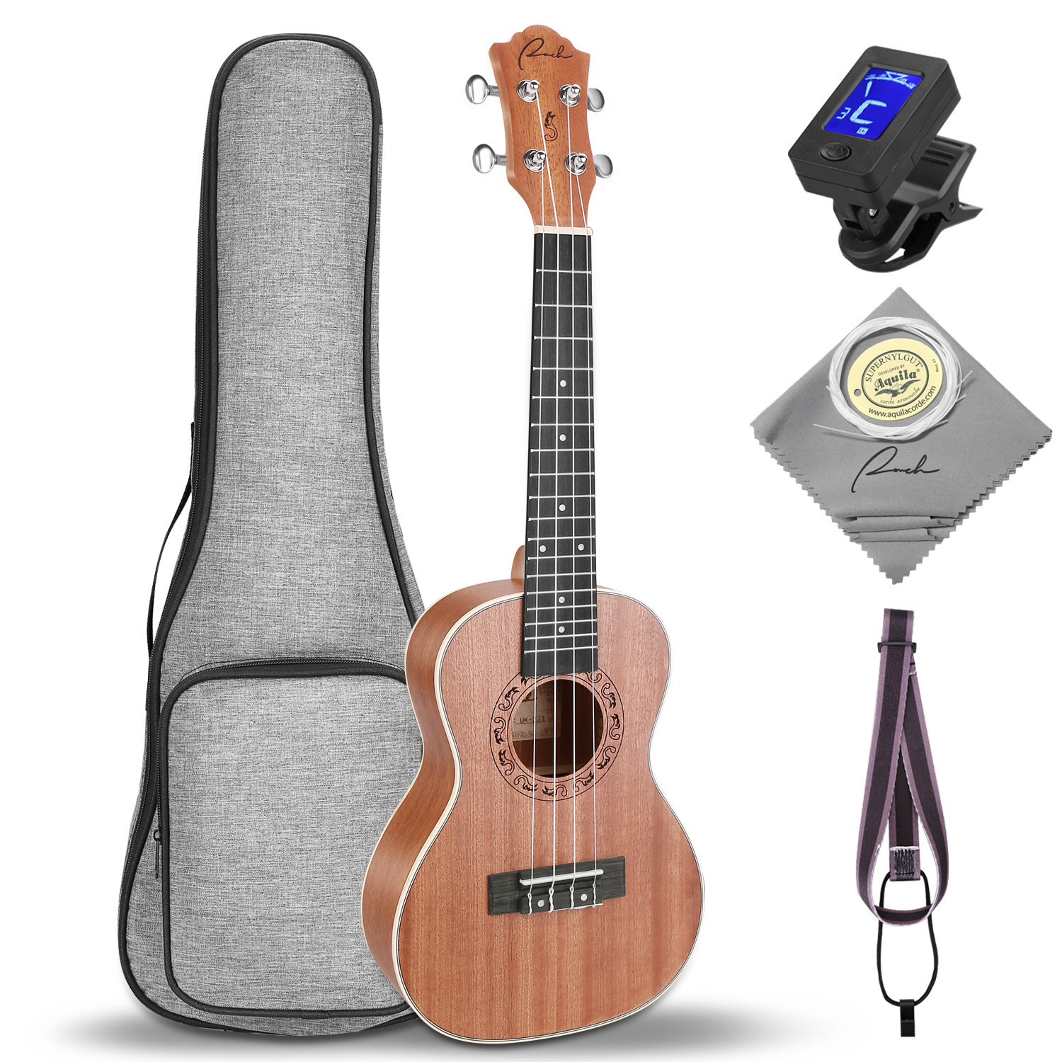 Ranch Guitar Ukulele With Music Instrument Accessories