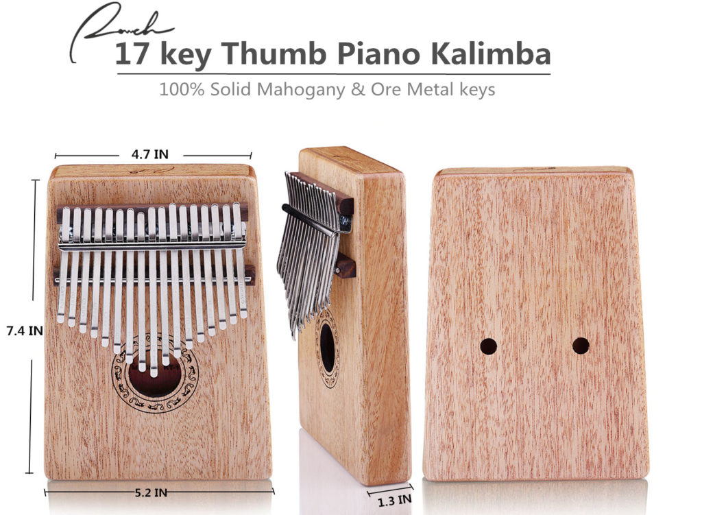 Ranch Kalimba Pouce Piano 17 touches