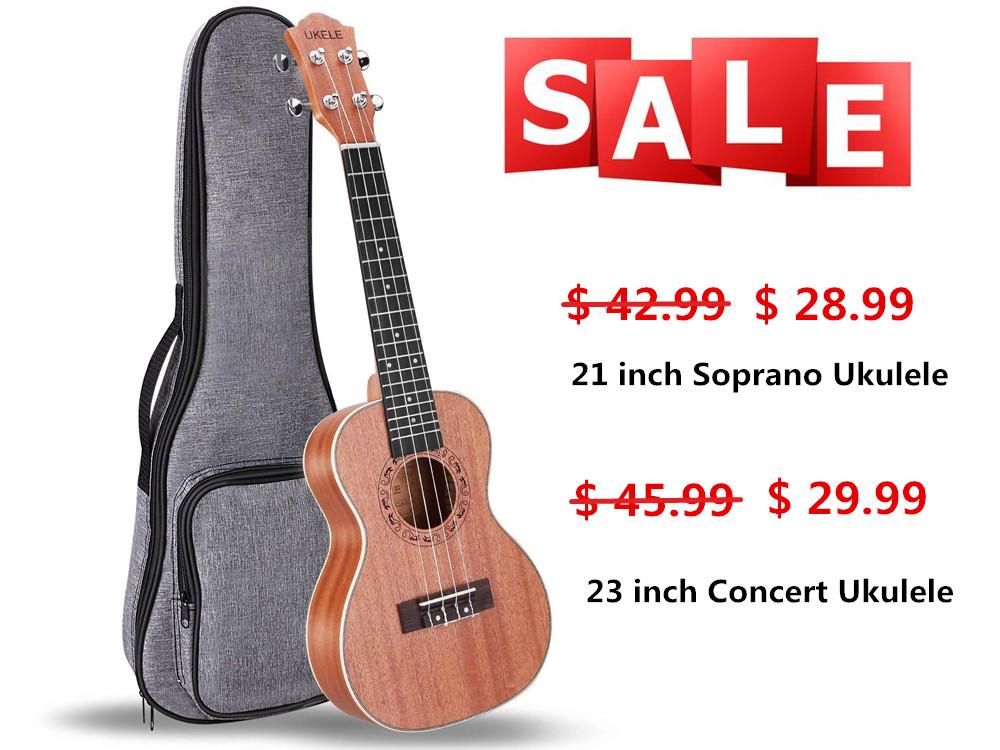 ukele ukulele with gig bag for sale only. Black Bedroom Furniture Sets. Home Design Ideas