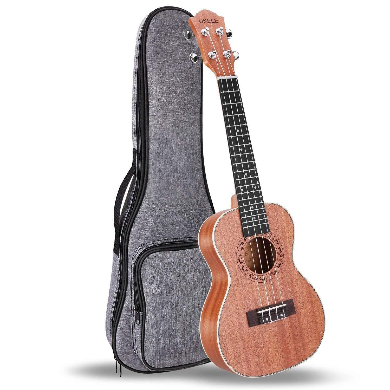 ukele 21 inch soprano ukulele professional beginner instrument with gig bag for sale
